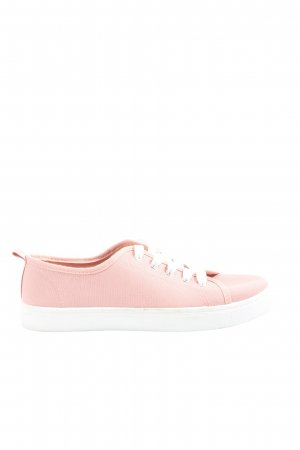 AF Lace-Up Sneaker pink-white casual look