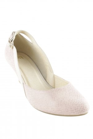 AF Slingback Pumps light pink-cream elegant