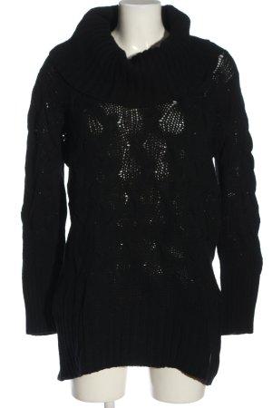 AF Wool Sweater black casual look