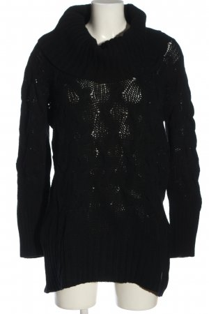 AF Wollen trui zwart casual uitstraling