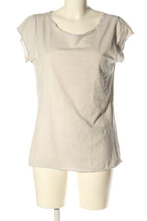 affaire privée T-Shirt creme Casual-Look