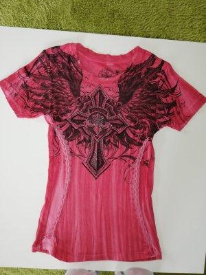Afflication Shirt, rot, Gr. M