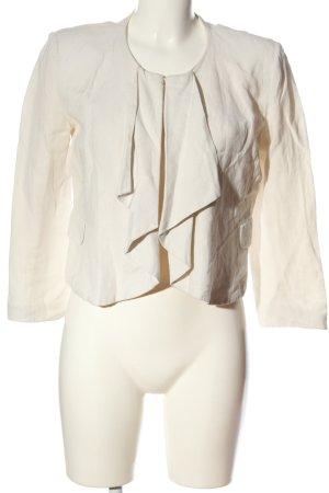Aftershock London Blazer court blanc cassé style décontracté