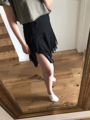 Aftershock London Falda de talle alto negro