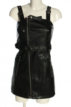 AFTF Basic Pinafore Overall Skirt black casual look