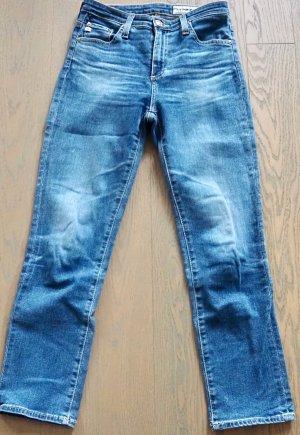 Adriano Goldschmied High Waist Jeans cornflower blue cotton