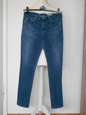 AG Jeans Slim Jeans slate-gray-azure cotton