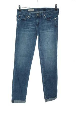 AG Jeans vita bassa blu stile casual