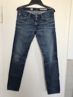 AG Jeans Slim Jeans steel blue cotton