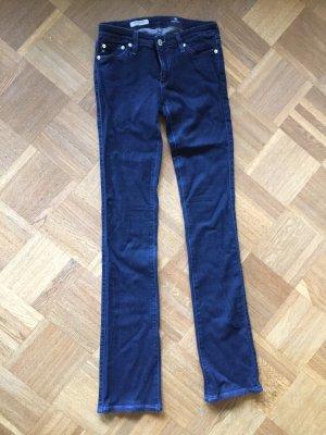 Adriano Goldschmied Skinny Jeans dark blue cotton