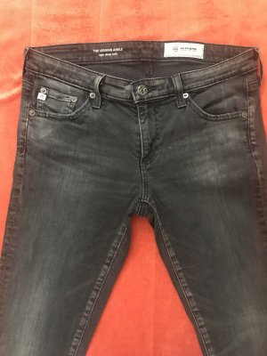 Adriano Goldschmied Jeans skinny gris anthracite