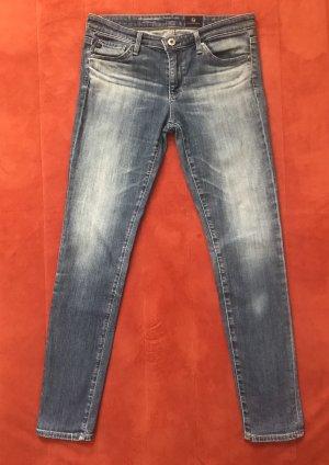 AG Jeans Jeansy o obcisłym kroju błękitny-stalowy niebieski
