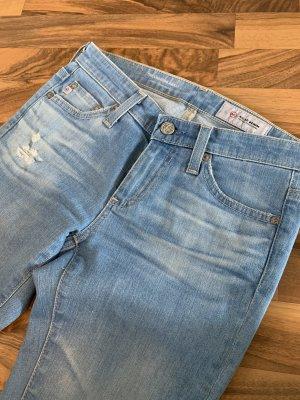 AG Jeans Skinny Jeans light blue