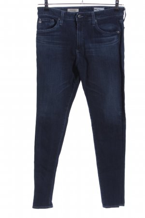 AG Jeans Hoge taille jeans blauw casual uitstraling
