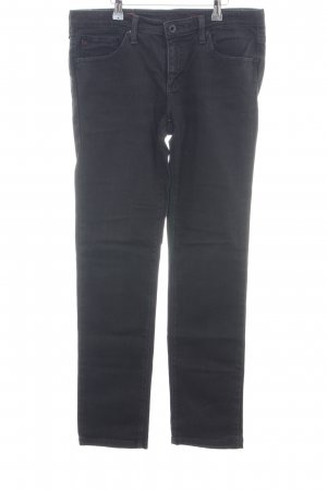AG Jeans Hoge taille jeans zwart casual uitstraling
