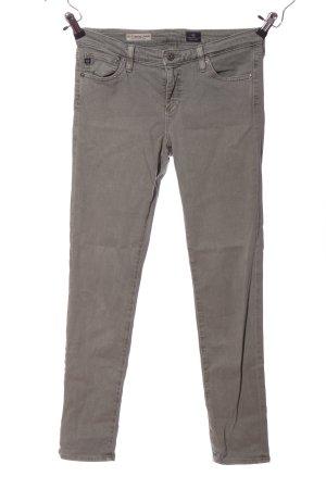 AG Jeans Spodnie rurki jasnoszary W stylu casual