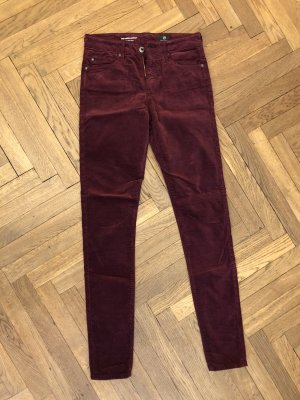 Adriano Goldschmied Pantalon bordeau