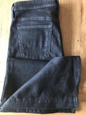 Adriano Goldschmied Jeans a vita alta blu scuro Cotone