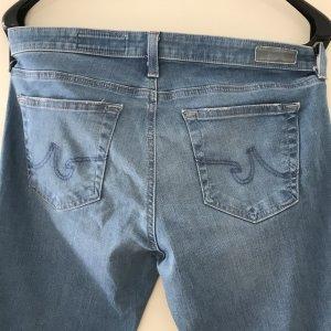 AG Jeans Slim jeans azuur