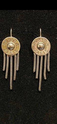 Agatha Paris echt Silber 925 Ohrringe 4 cm top Zustand
