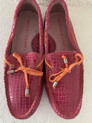 Agatha Ruiz de la Prada Mocasines rosa-naranja