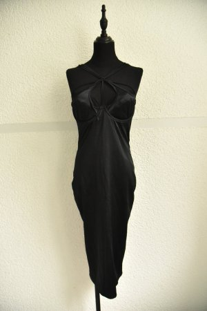 Agent Provocateur Pinafore dress black polyester