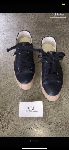 Attilio giusti leombruni Lace-Up Sneaker multicolored leather