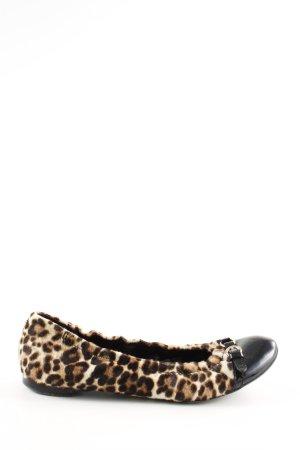 AGL Ballerine en pointe motif léopard style extravagant
