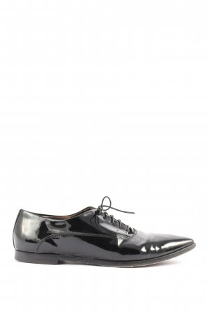 AGL Wingtip Shoes black business style