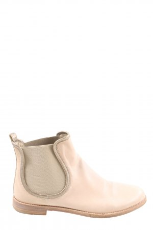 AGL Chelsea Boots natural white casual look