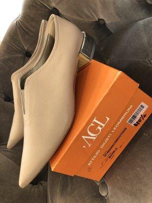 AGL Ballerina's met kant veelkleurig Leer