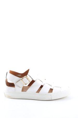 AGL Sandales confort blanc style décontracté