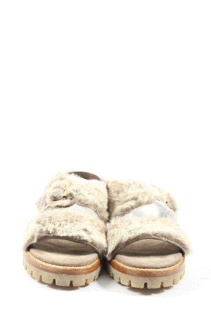 AGL Comfortabele sandalen bruin casual uitstraling