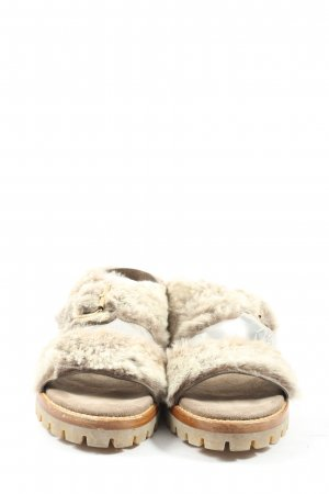 AGL Comfort Sandals natural white casual look