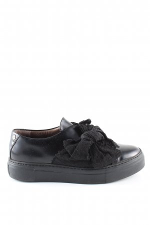AGL Slip-on Shoes black casual look