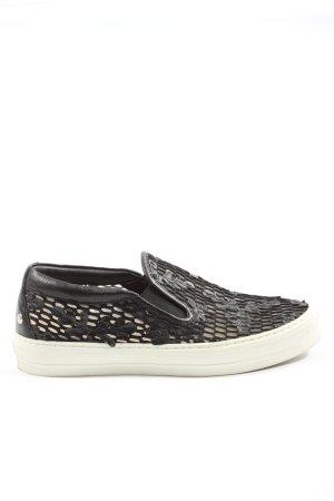 AGL Instapsneakers zwart casual uitstraling