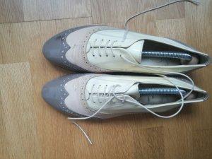 AGL Chaussures à lacets multicolore tissu mixte