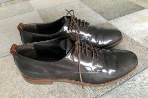 AGL Chaussures à lacets gris foncé