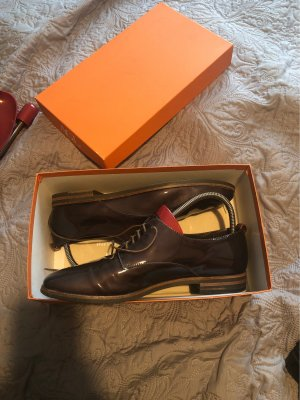 AGL Lace Shoes black brown