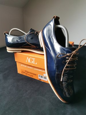 AGL Lace-Up Sneaker multicolored leather