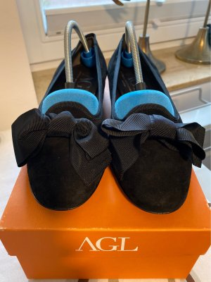 AGL Slip-on Shoes black