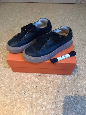 AGL Lace-Up Sneaker dark blue-gold-colored