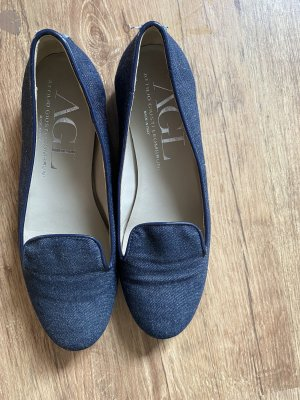 AGL Pantofel niebieski Denim