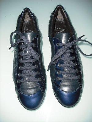 AGL Basket à lacet bleu foncé