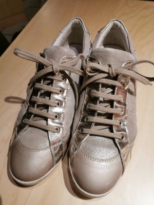 Attilio giusti leombruni Lace-Up Sneaker gold-colored-taupe