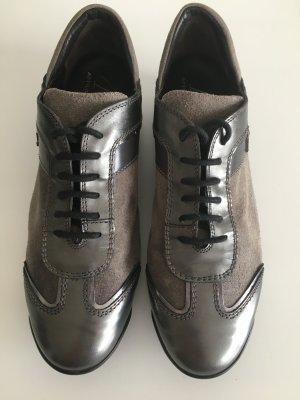 AGL Sneaker grau metallic, Größe 38,5