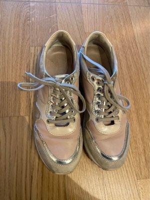 AGL Sneaker Puder/Gold