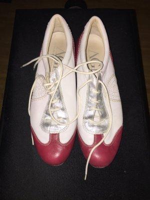 AGL Sneakers Weiß rot silber 40 sportliche Impressionen