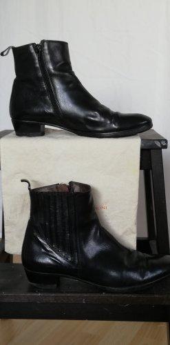 AGL Stivaletto con zip nero