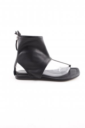 AGL Toe-Post sandals black casual look